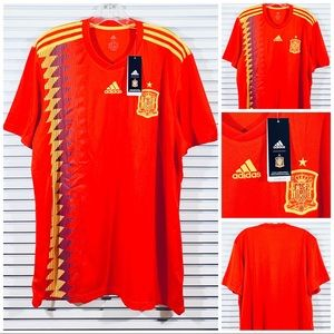 Adidas Spain 2018 FIFA World Cup Home Jersey